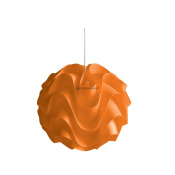 LAMPA MODELOWANA WAVE W-30232 ORANGE